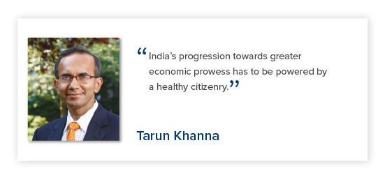 Tarun Khanna - Reimagining India's Health System - The Lancet Citizens' Commission