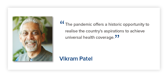 Vikram Patel - Reimagining India's Health System - The Lancet Citizens' Commission