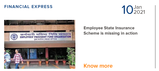 Employee State Insurance is missing in action