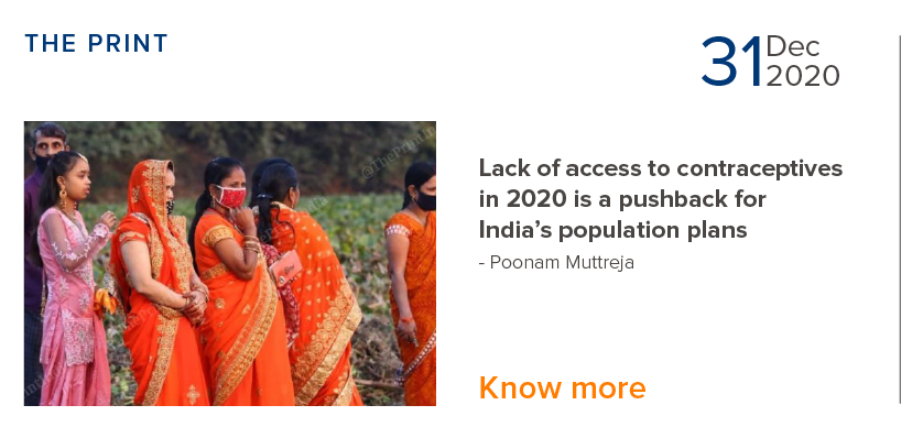 Lack of access of contraceptives is a pushback for India's population plans - Poonam Muttreja