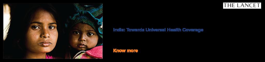 India: Towards Universal Health Coverage