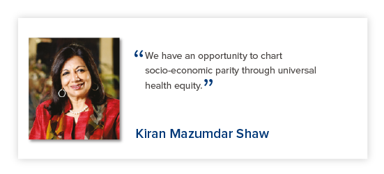 Kiran Mazumdar Shaw - Reimagining India's Health System - The Lancet Citizens' Commission