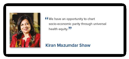 Kiran Mazumdar Shaw - Reimagining India's Health System - The Lancet Citizens' Commission